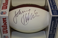 RAMS - JOHNNY HEKKER SIGNED PANEL BALL