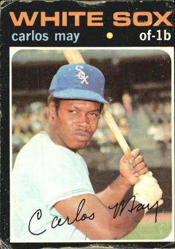 Photo of 1971 Topps #243 Carlos May
