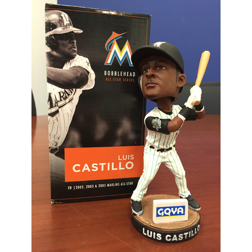 Photo of Marlins Charity Auction, Luis Castillo Bobblehead