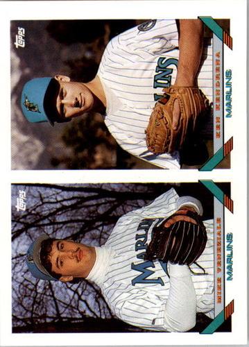 Photo of 1993 Topps #726 Mike Veneziale RC/Ken Kendrena