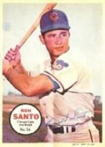 Photo of 1967 Topps Posters Inserts #26 Ron Santo