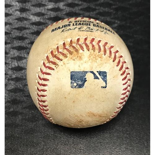 Photo of 2017 All-Star Auction: Game-Used Baseball - Paul Goldschmidt RBI Single vs. Kyle Freeland