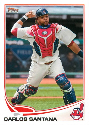 Photo of 2013 Topps #141 Carlos Santana
