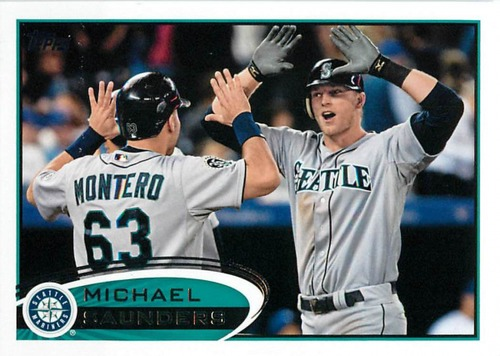 Photo of 2012 Topps Update #US90 Michael Saunders