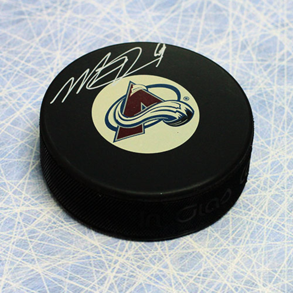 Matt Duchene Colorado Avalanche Autographed Hockey Puck
