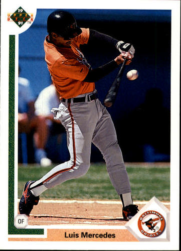 Photo of 1991 Upper Deck #745 Luis Mercedes RC