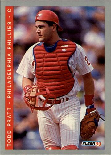 Photo of 1993 Fleer #497 Todd Pratt RC