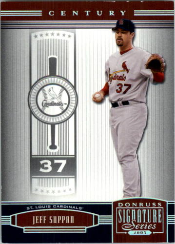 Photo of 2005 Donruss Signature Century Proofs Silver #129 Jeff Suppan