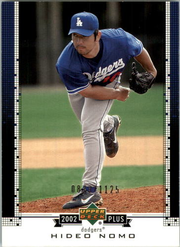 Photo of 2002 Upper Deck UD Plus Hobby #UD68 Hideo Nomo