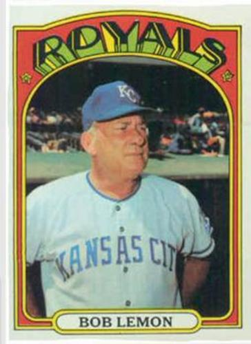 Photo of 1972 Topps #449 Bob Lemon MG