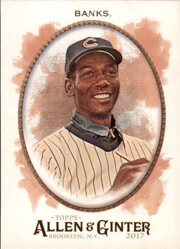 Photo of 2017 Topps Allen and Ginter #161 Ernie Banks