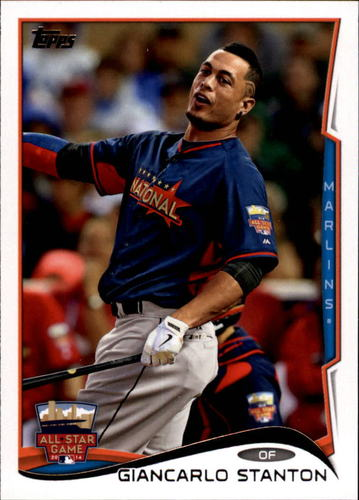 Photo of 2014 Topps Update #US238 Giancarlo Stanton