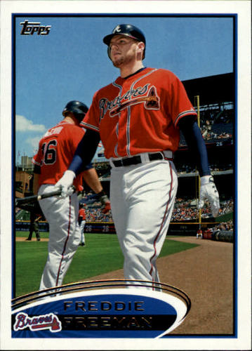 Photo of 2012 Topps #215A Freddie Freeman