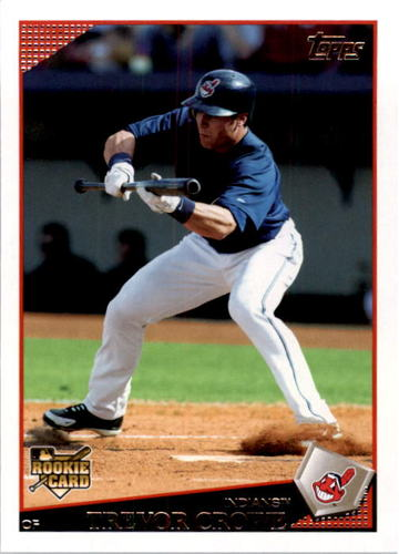 Photo of 2009 Topps #377 Trevor Crowe RC