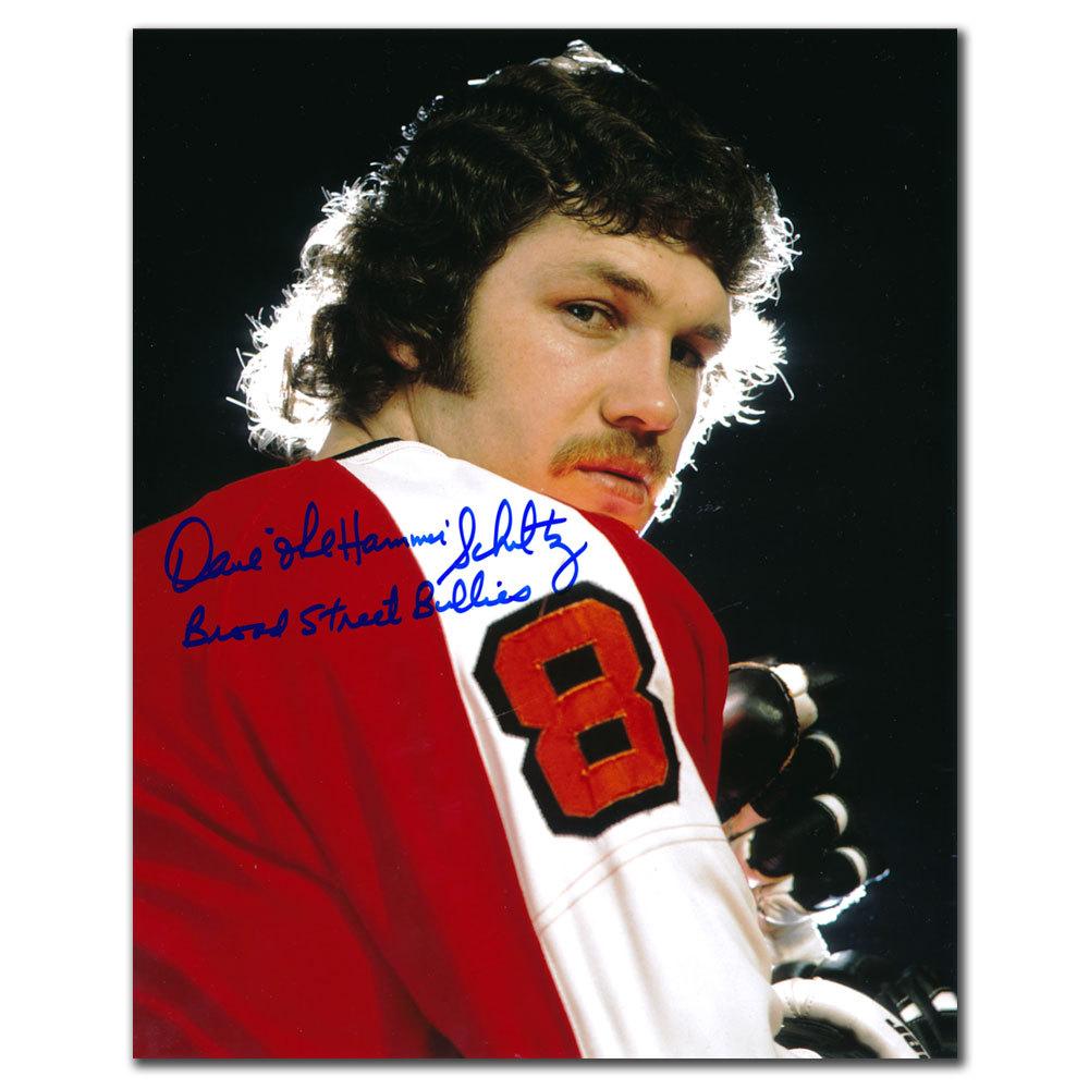 Dave Schultz Philadelphia Flyers Broad Street Bullies Autographed 8x10