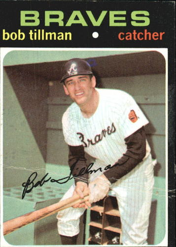 Photo of 1971 Topps #244 Bob Tillman