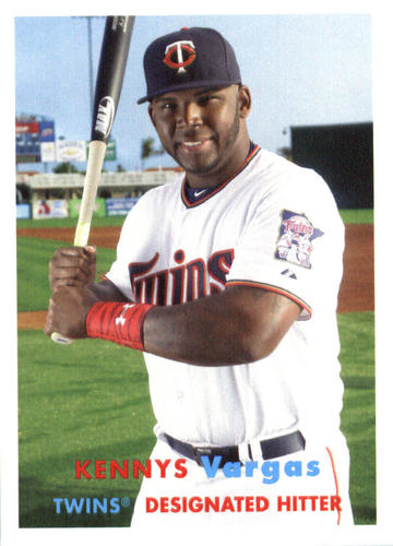 Photo of 2015 Topps Archives #87 Kennys Vargas -- Twins post-season