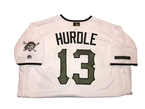 Clint Hurdle Game-Used Memorial Day Weekend Jersey