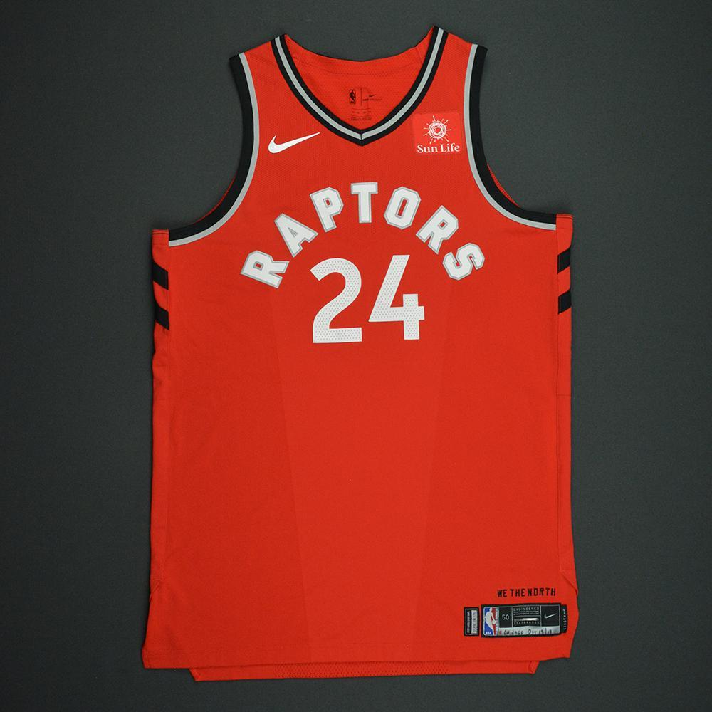 Norman Powell - Toronto Raptors - Kia NBA Tip-Off 2017 - Game-Worn Jersey