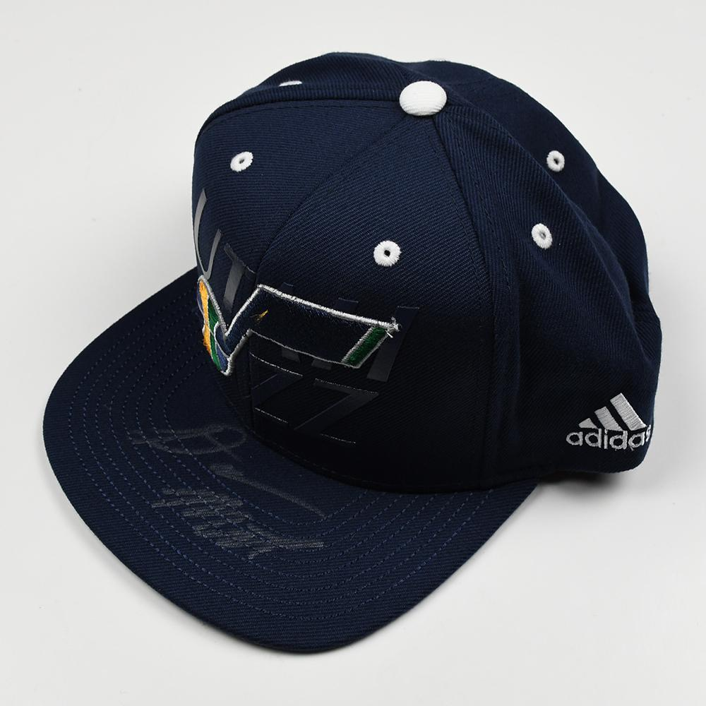 Donovan Mitchell - Utah Jazz - 2017 NBA Draft - Autographed Hat