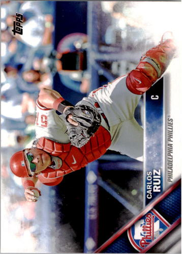Photo of 2016 Topps #237 Carlos Ruiz