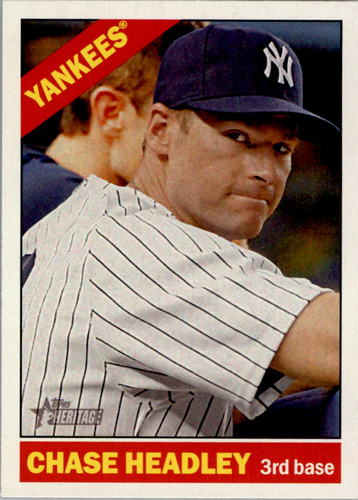 Photo of 2015 Topps Heritage #207 Chase Headley