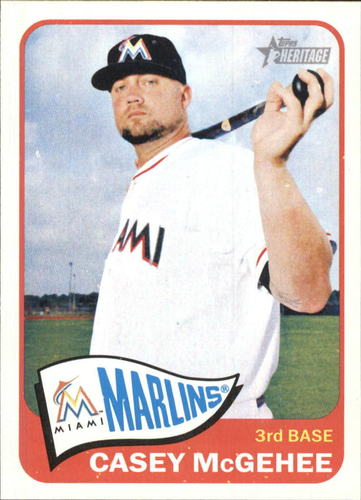 Photo of 2014 Topps Heritage #H539 Casey McGehee