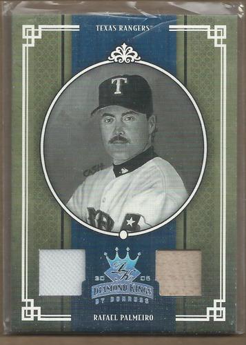 Photo of 2005 Diamond Kings Materials Silver B/W #234 Rafael Palmeiro Rgr Bat-Pants/100
