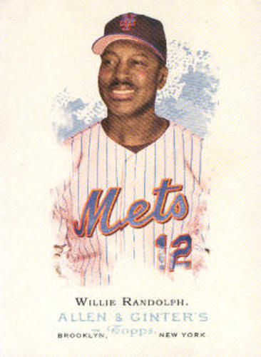 Photo of 2006 Topps Allen and Ginter #296 Willie Randolph MG