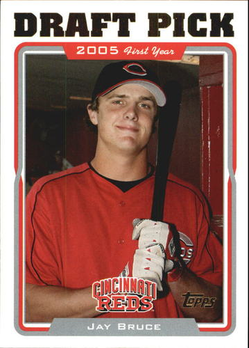 Photo of 2005 Topps Update #325 Jay Bruce Rookie Card -- Indians post-season