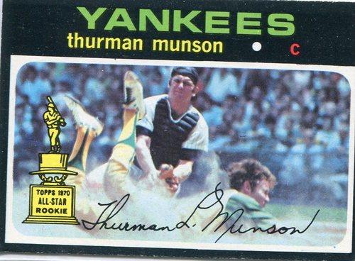 Photo of 1971 Topps #5 Thurman Munson