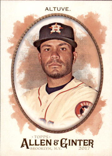 Photo of 2017 Topps Allen and Ginter #184 Jose Altuve