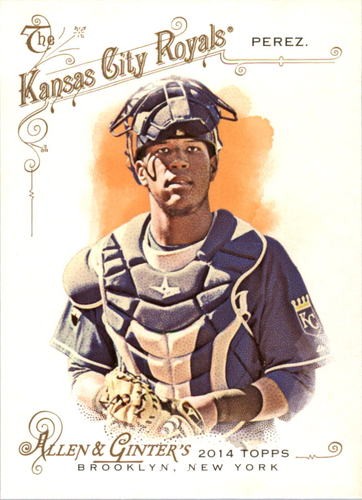 Photo of 2014 Topps Allen and Ginter #282 Salvador Perez