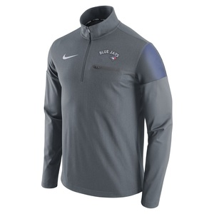 Toronto Blue Jays 1/2 Zip Elite Fleece by Nike