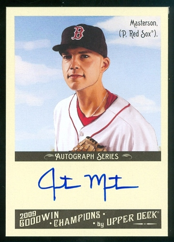 Photo of 2009 Upper Deck Goodwin Champions Autographs #JU Justin Masterson