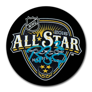 Ben Bishop Autographed 2016 NHL All-Star Game Puck (Tampa Bay Lightning)