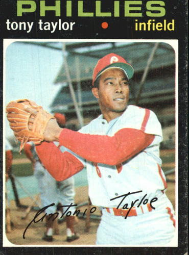 Photo of 1971 Topps #246 Tony Taylor