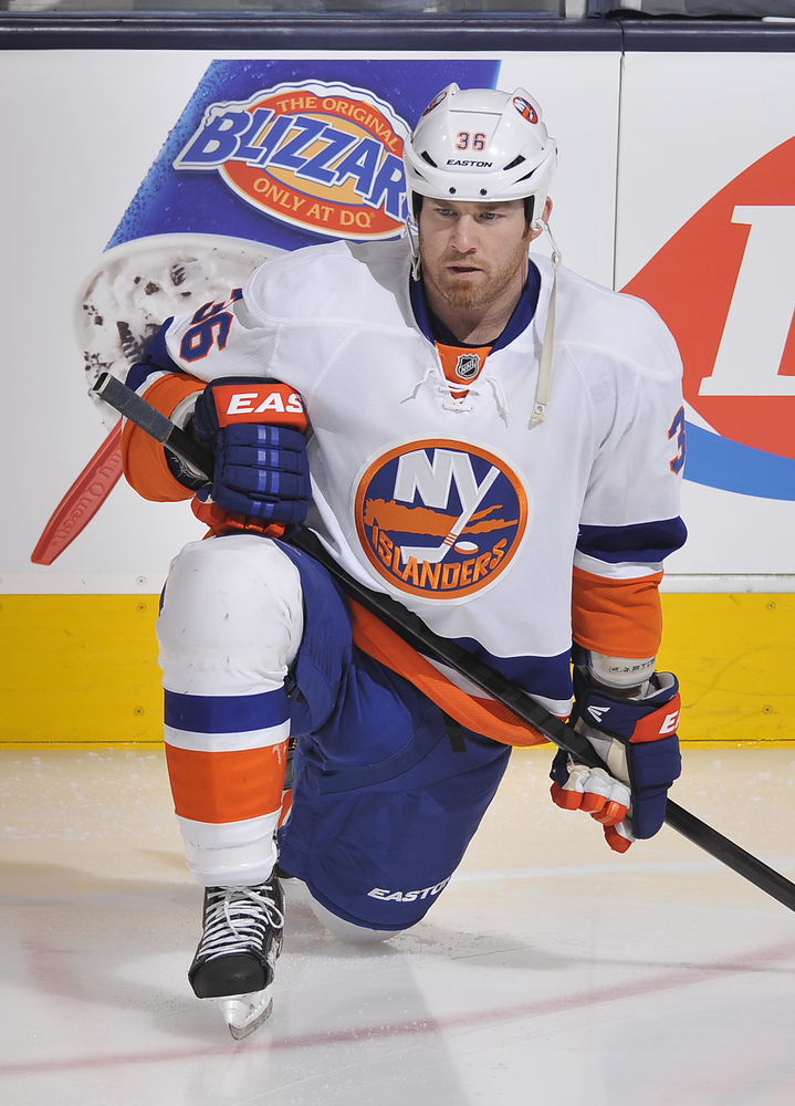 Jersey off the Back of Eric Boulton - New York Islanders