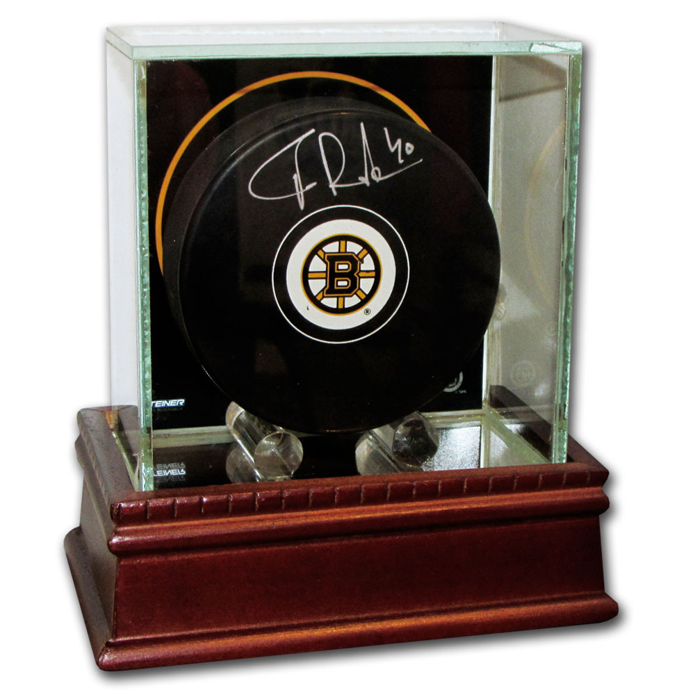 Tuukka Rask Autographed Boston Bruins w/Display Case