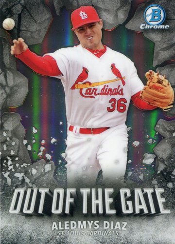 Photo of 2016 Bowman Chrome Out of the Gate #OOG3 Aledmys Diaz