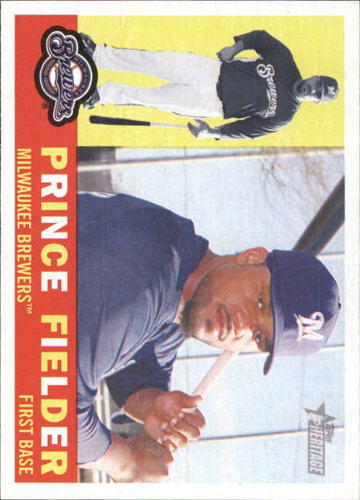 Photo of 2009 Topps Heritage #380 Prince Fielder