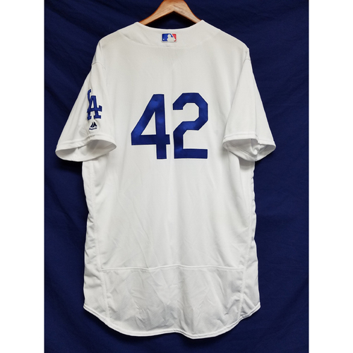 "Photo of George Lombard Game-Used ""42"" Jersey"