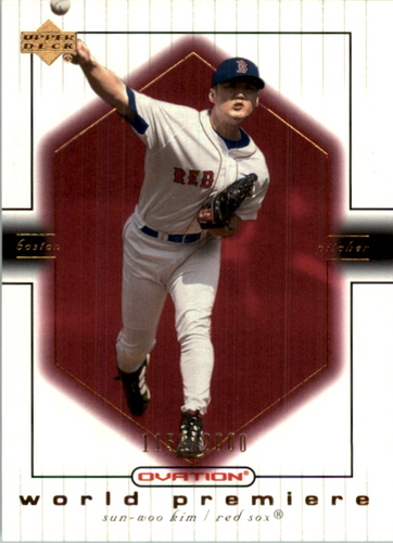 Photo of 2001 Upper Deck Ovation #78 Sun Woo Kim WP