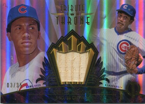 Photo of 2014 Topps Tribute Tribute to Throne Relics Sepia  Fergie Jenkins 3/35 -- Hall of Famer