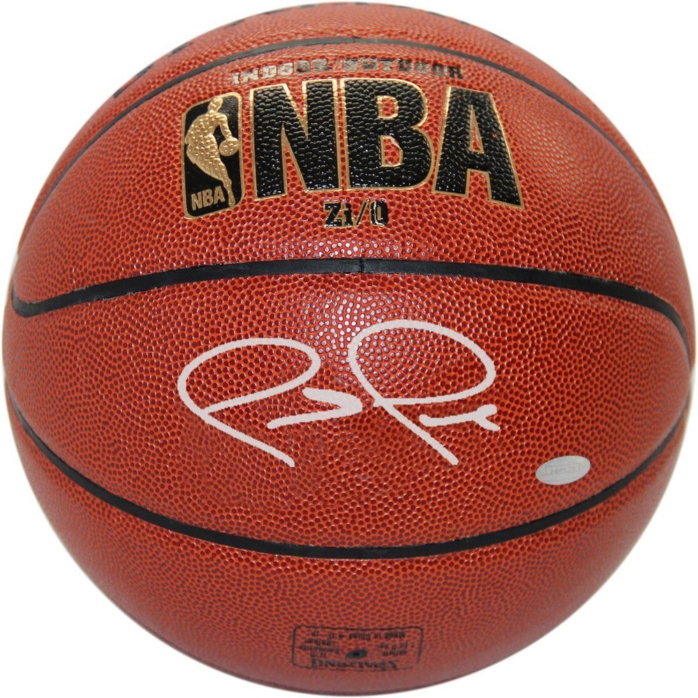 Paul Pierce Signed I/O Basketball (Signed in Silver)