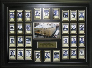 Toronto Maple Leafs - Framed 8x12 Tickets & Plate Season Etched Mat