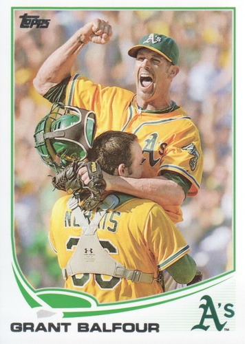 Photo of 2013 Topps #616 Grant Balfour