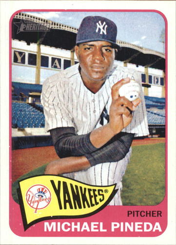 Photo of 2014 Topps Heritage #H540 Michael Pineda