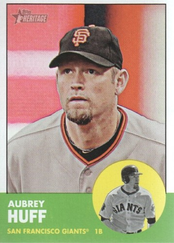 Photo of 2012 Topps Heritage #61 Aubrey Huff