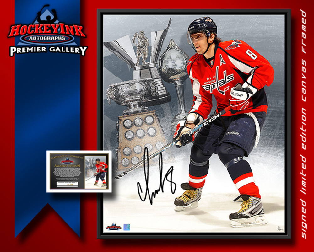 NHL Superstar ALEX OVECHKIN Signed